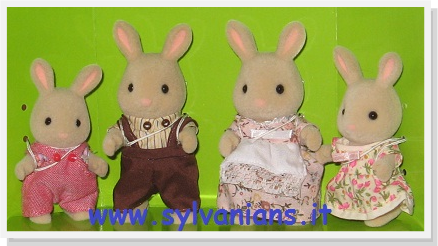 Sylvanian Families COTTONTAIL RABBIT BABY 5064 EU Epoch Calico Critters